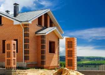 Фото построенных домов из кирпича