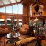 Имитация бруса во внутренне отделке дома