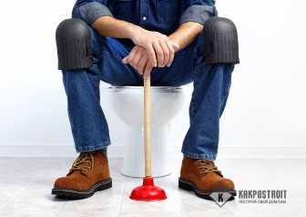 Засорился унитаз: как прочистить самостоятельно