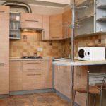 Кухня в хрущевке: фото проектов после ремонта