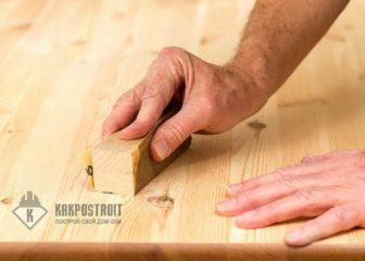 Как зашлифовать деревянный пол