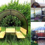 Беседки садовые из поликарбоната