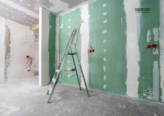 Стоимость отделки стен плитами ГКЛ
