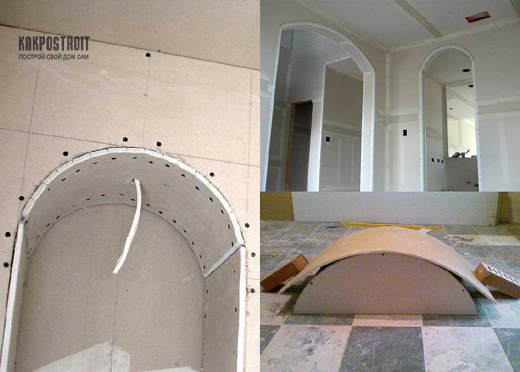 Дизайн межкомнатных арок