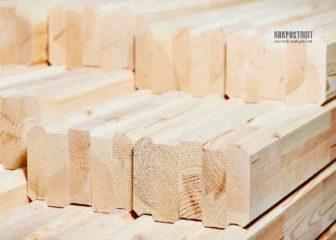 Клееный брус: плюсы и минусы