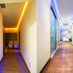 Подвесные потолки в коридоре и прихожей