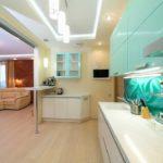Натяжной потолок на кухне: отзывы и комментарии