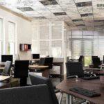 Монтаж потолка армстронг: цена ремонта