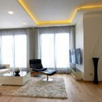 Гипсокартон: потолок гостиной