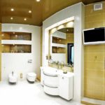 Светильники и люстры для ванной комнаты