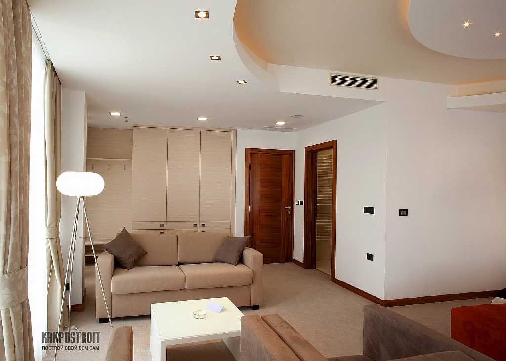 Гипсокартоновые конструкции на потолках