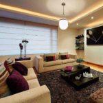 Натяжные потолки с подсветкой: фото квартир и домов