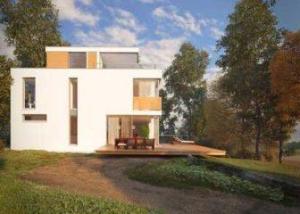 Дома в стиле хайтек: проекты готовых зданий