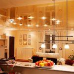 Натяжной потолок на кухне: отзывы