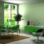 Какие комнаты лучше оформлять зеленым цветом