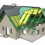 Технология утепления крыши дома с мансардой