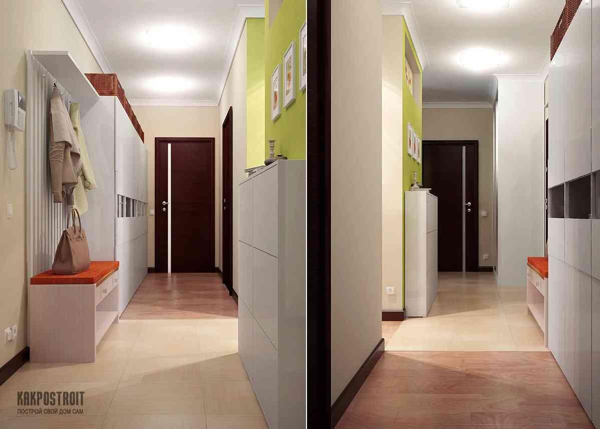 Мебель для узкого коридора дизайн