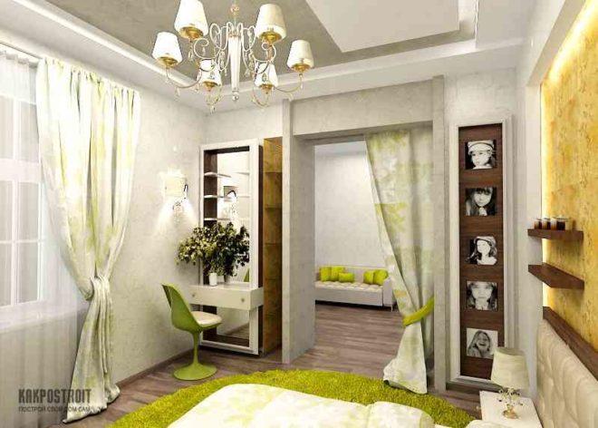 Перегородки в комнату дизайн фото