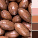 Сочетание розового и коричневого