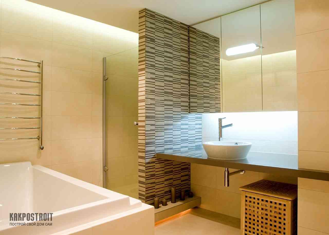 Установка гипсовой перегородки между ванной и кухней - Утро 63