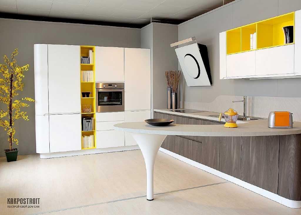 Цвет фасадов на кухне