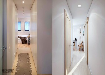 Квартирный коридор: дизайн и фото узких вариантов