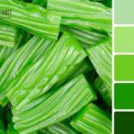 Изменение зеленого по насыщенности