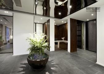 Зеркальные потолки: фото готовых проектов