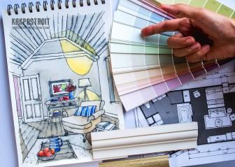 Грамотное сочетание цвета в интерьере: фото цветовых схем и интерьеров