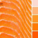 Оранжевый и персиковый