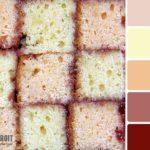 Цвет бисквитного пирожного