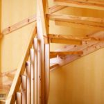 Какая лестница занимает меньше места