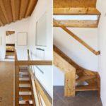 Простая лестница на мансарду