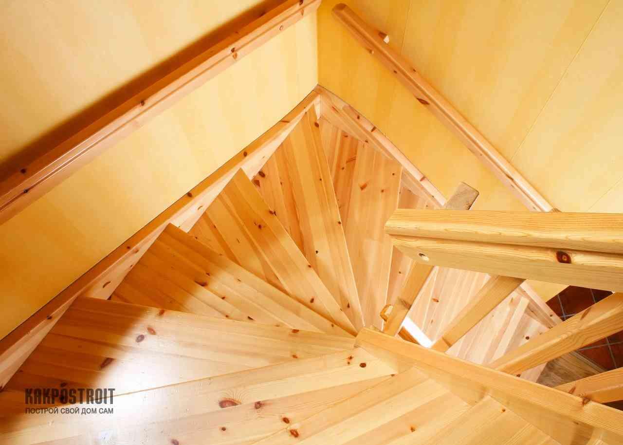 Как сделать лестницу для работы на крыше своими руками 89