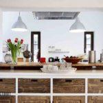 Натуральные материалы в интерьере кухни
