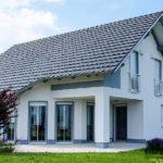 Двухскатная крыша с мансардой: фото готовых проектов