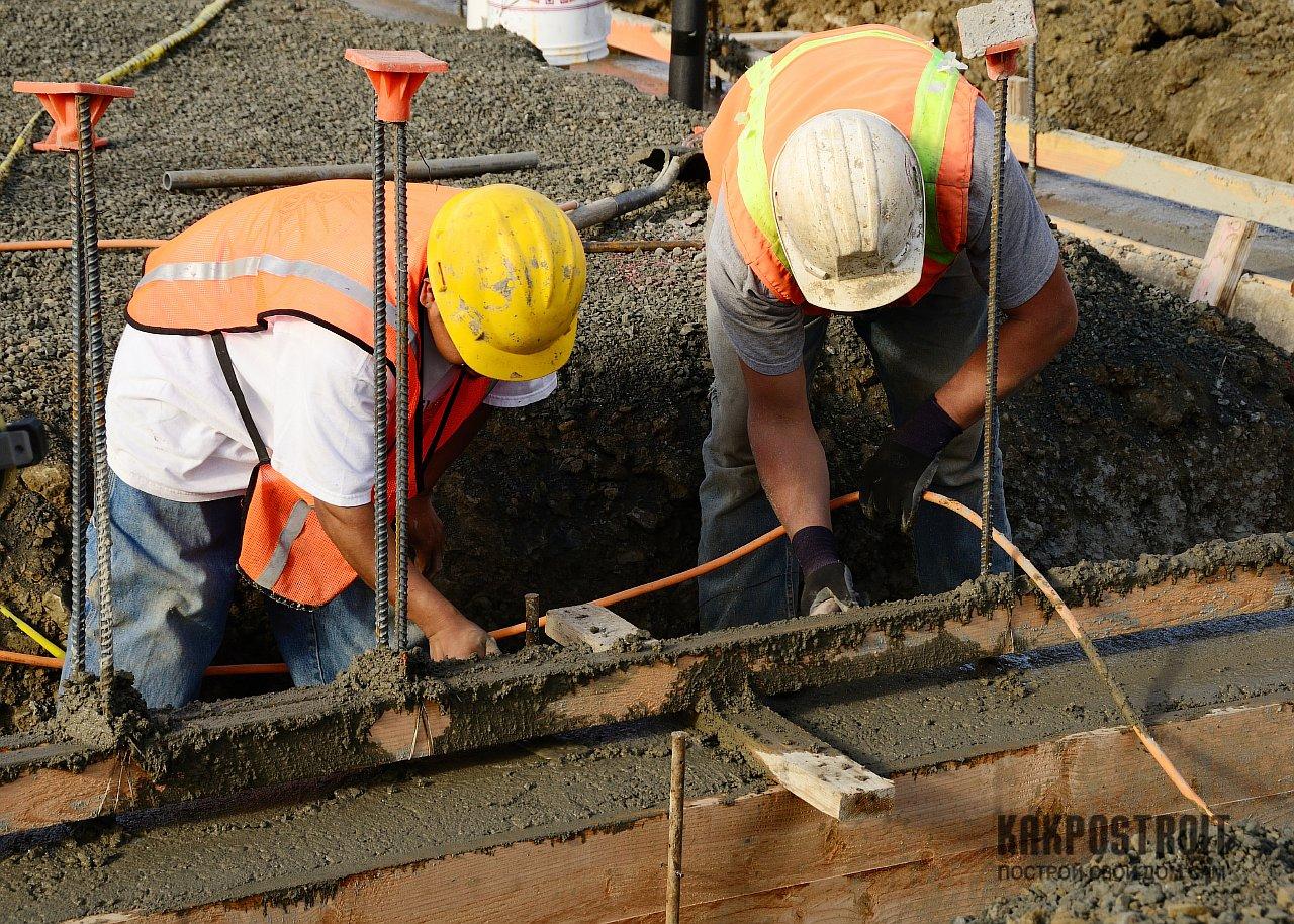 Как сделать бетон для фундамента: пропорции, заливка 21