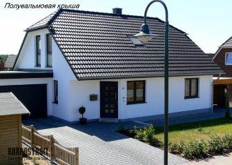 Проекты крыши с мансардой: фото и схемы