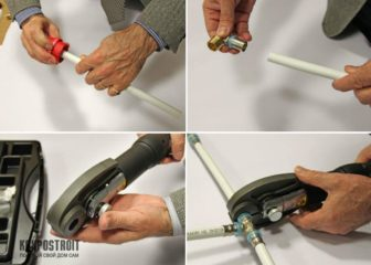 Как соединить вобопроводные трубы
