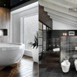 Как оформить ванну в деревянном доме
