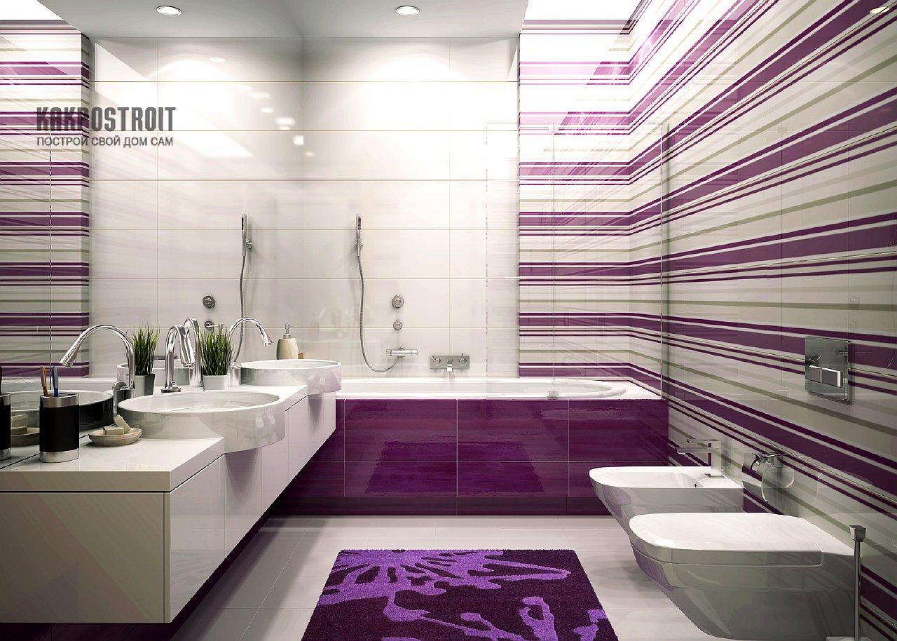 Фиолетовый деклр