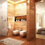 Отделка ванной комнаты плиткой: фото оригинальных решений