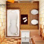 Как спланировать дизайн малогабаритной ванной