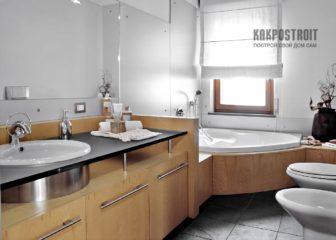 Выбор мебели и организация пространства в ванной комнате