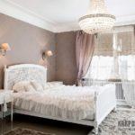 Как сделать красивые шторы для спальни в стиле прованс