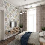 Преимущества штор на люверсах для спальни