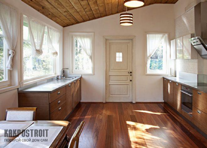 Шторы для маленьких кухонь