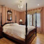 Красивые шторы для спальни: фото образцов в интерьере