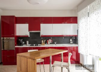 Как оформить окна на кухне