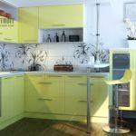Дизайн маленькой кухни хрущевки: фото готовых интерьеров